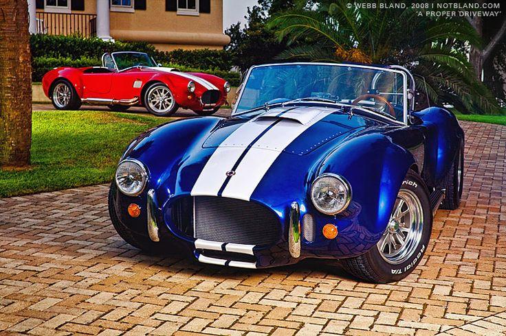 shelby ac cobra (replica) - backdraft racing