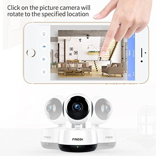 FREDI Wireless 1080P IP Baby Pet Monitor Camera WiFi Camera