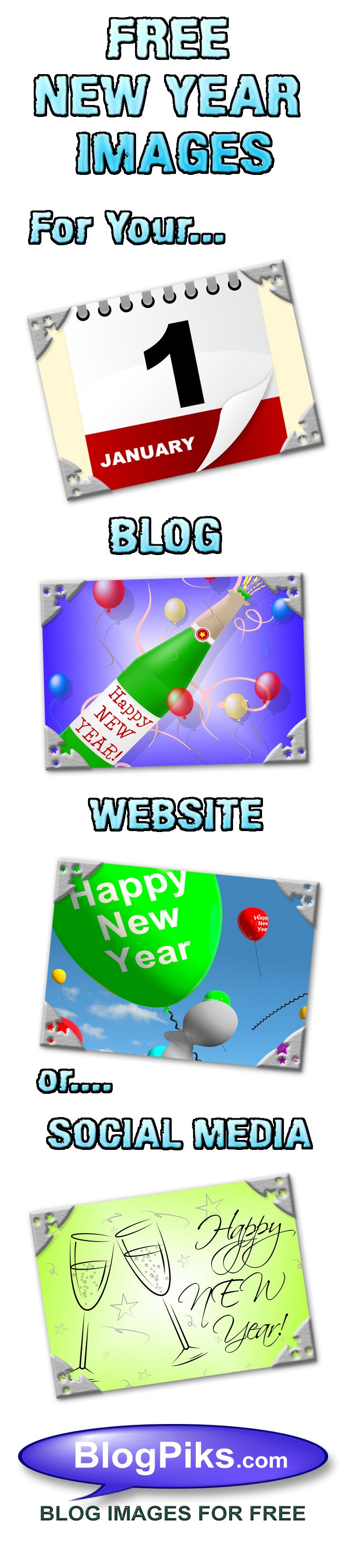 Free New Year Images For Your Blog, Website Or Social Media