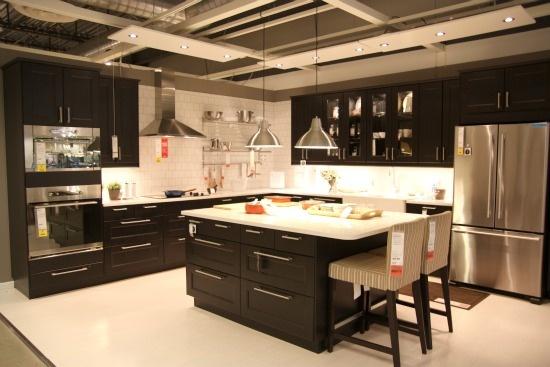 Ikea Ramsjo black-brown.