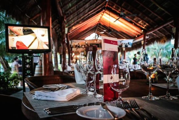 #ExperienceCDNbeef Culinary series at @karismahotels. #Wine #Beef #Food