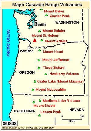 Cascade Range Cascade Range Volcanoes Cascade Mtn Range Pinterest Volcano Cascade Mountains And Mountains