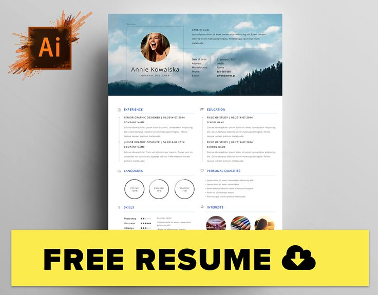 7 best Libra - Resume Template images on Pinterest Career - personal website resume