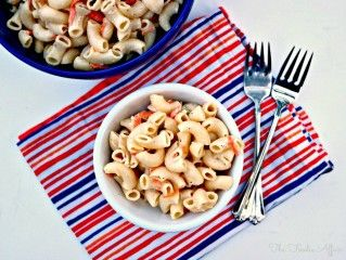 This simple macaroni salad recipe is served at the LAndL Hawaiian BBQ chain. This recipe is from their cookbook by Eddie Flores, Jr.