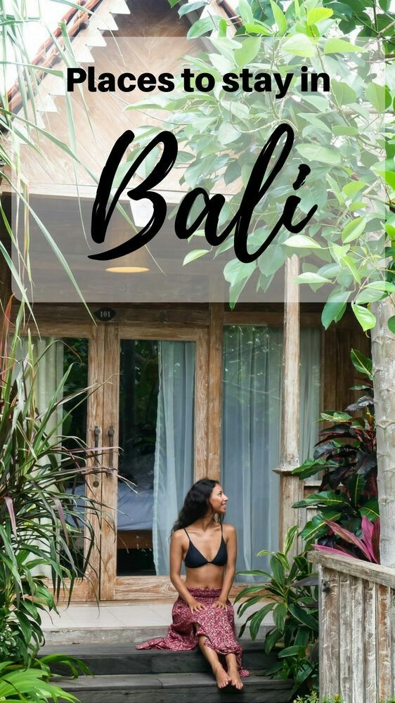 Where To Stay In Bali 😎 stay on a budget