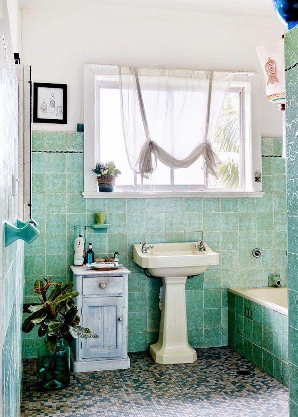 Green With Envy Bathroom MyleeOzzie