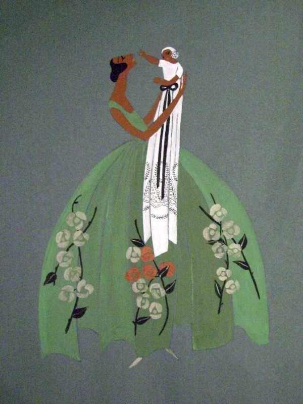 1922 Ca - Jeanne Lanvin La femme et L'Enfant © Patrimoine Lanvin