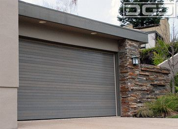 Custom Designed Modern Garage Doors by Dynamic Garage Door | Danville CA Project contemporary-garage-doors
