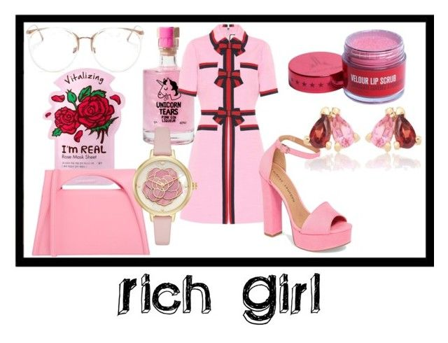 """Rich Girl"" by rossi-iii on Polyvore featuring TONYMOLY, Linda Farrow, Gucci, Chinese Laundry, J.W. Anderson, Aliita, pretty, preppy, fashionable and women"