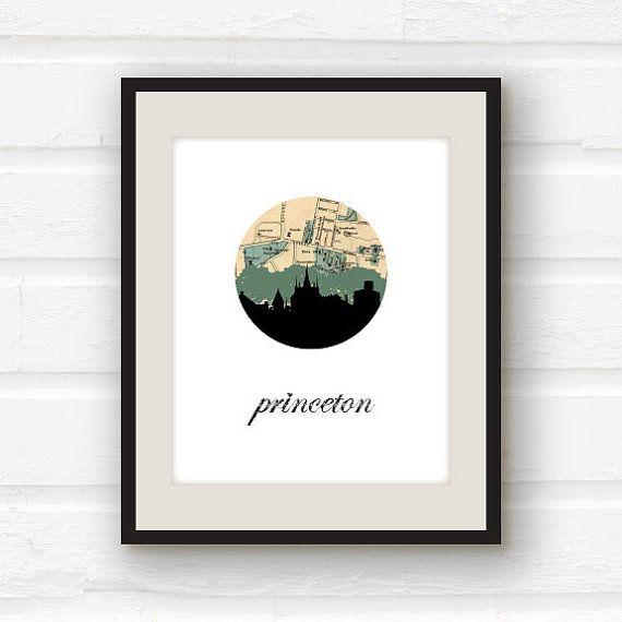 Princeton University // Princeton New Jersey by PaperFinchDesign