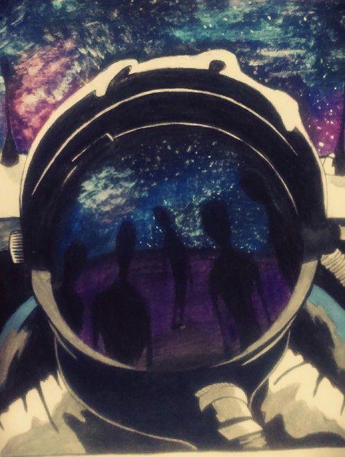Astronaut #art #illustration.