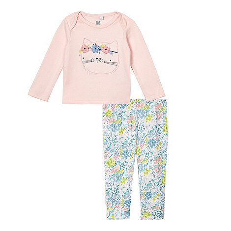 bluezoo Baby girls' multicoloured top and leggings set | Debenhams