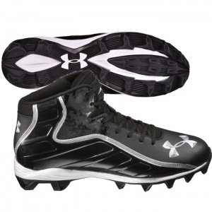SALE - Under Armour Hammer Football Cleats Mens Black - Was $44.99. BUY Now - ONLY $34.99