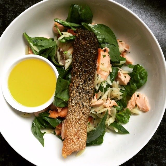Summer Time Simple Salmon Salads