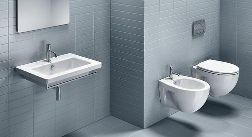 Wall-hung toilet / ceramic NEW LIGHT 52 CATALANO