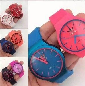 07732f94ae5e3 Relógios Adidas coloridos replicas primeira linha perfeitas de marcas  famosas baratos com preço de atacado para