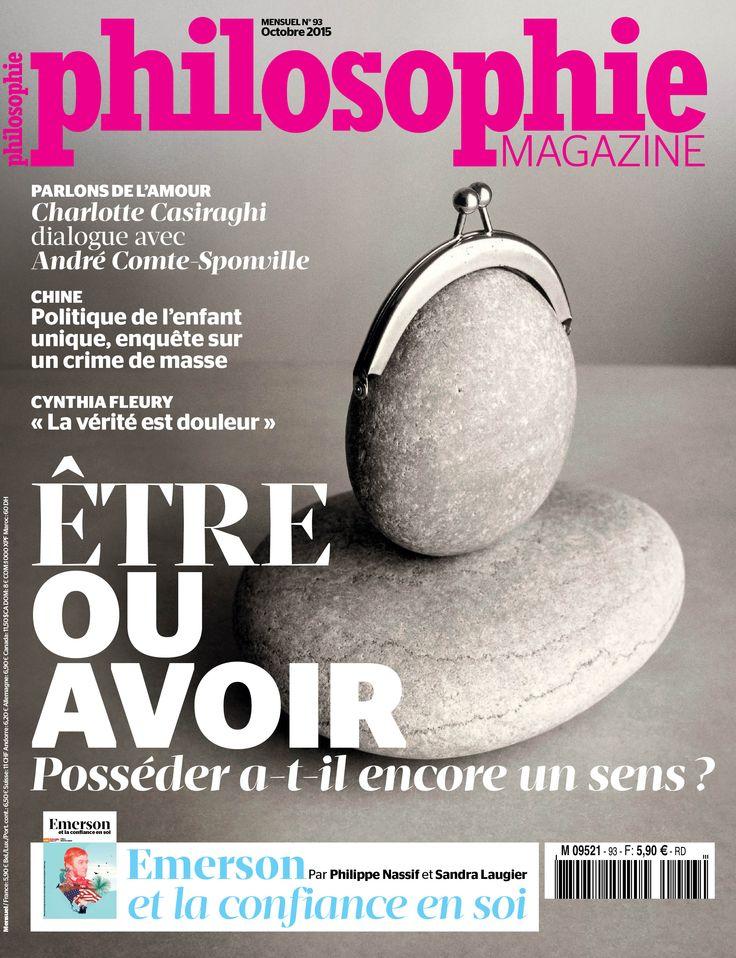 philosophie #magazine #cover #graphic design #