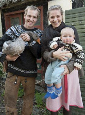 Gratis mønster Strik en sweater mage til Bonderøvens - Strik til ham - Håndarbejde og strikkeopskrifter - Familie Journal