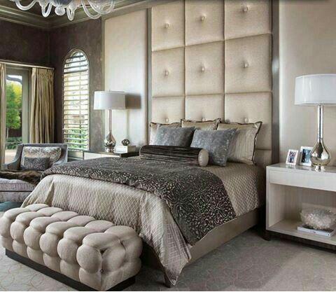 dormitorio cabecero acolchado