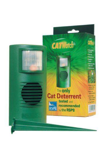 Aus der Kategorie Fernhaltemittel  gibt es, zum Preis von EUR 76,86  Ultraschall Katzenschreck. Ultraschall-Lärm emittiert, um Katzen in Ihrem Garten. Prüfung und Abnahme durch die RSPB. Batteriebetrieben, aber Netzteil separat erhältlich