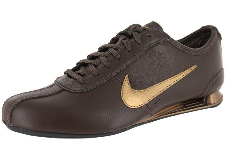 Chaussures Nike Shox Rivalry Marron Vue Extérieure