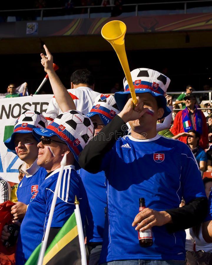 Soccer Fan Blows On Vuvuzela Horn Fifa World Cup Soccer Fan Blowing His Vuvuzel Sponsored World Fifa Soccer Cup Horn Ad Soccer Fans Fifa Soccer