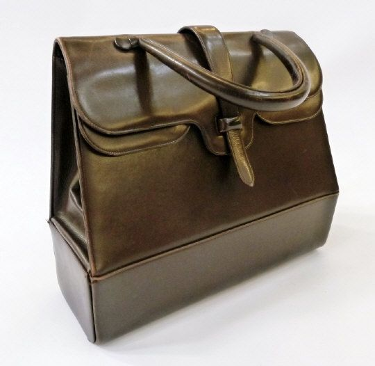 Nettie Rosenstein brown leather bag. Estimate £80.00 to £120.00 (Lot no: 213 in sale on 05/08/2014) The Cotswold Auction Company