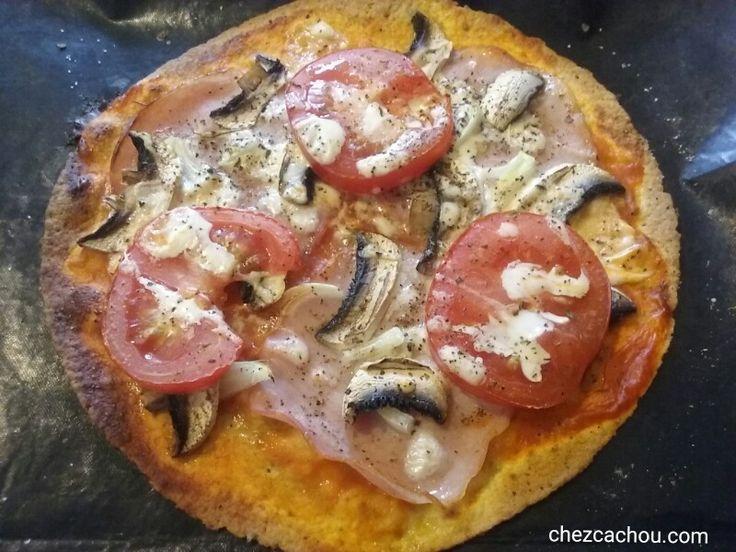 Tortizza ou pizza tortilla