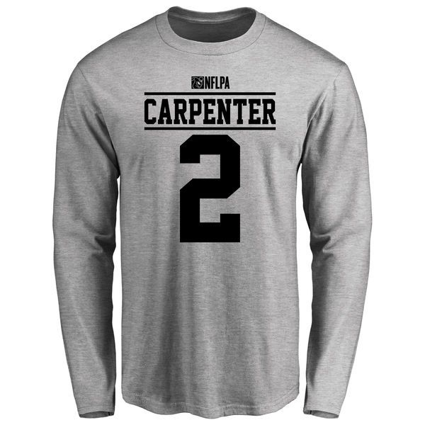Dan Carpenter Player Issued Long Sleeve T-Shirt - Ash - $25.95