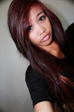Burgundy Hair  Tumblr  Hair Amp Makeup  Pinterest  Colors Love And Lov