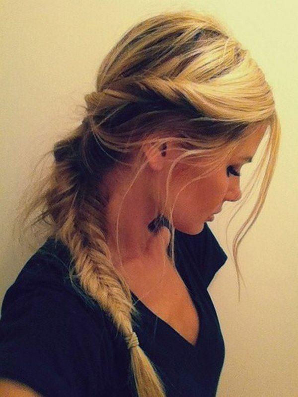 pinterest hairstyles braids ponitail - Hairstyles, Easy Hairstyles For Girls