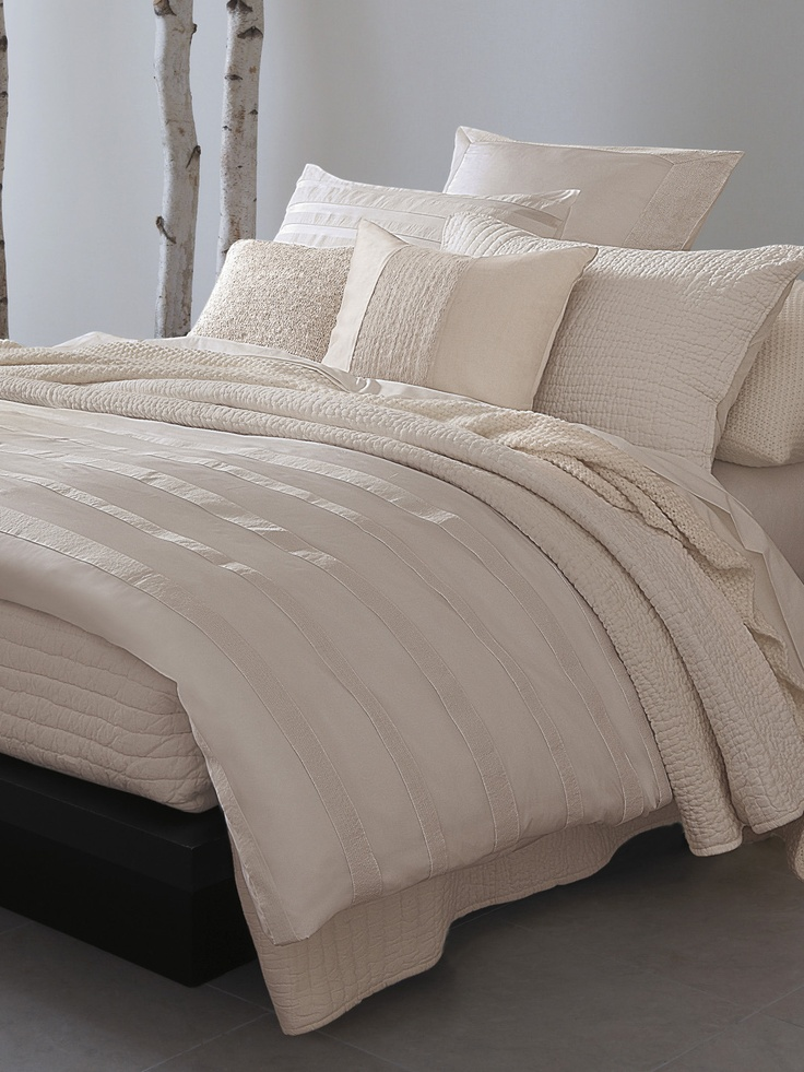 city stripe duvet cover by donna karan home at gilt home
