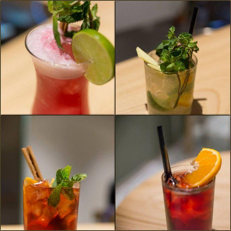 Un assaggio dei cocktail firmati #iduebuoi: presso la Vermoutheria interna al ristorante.