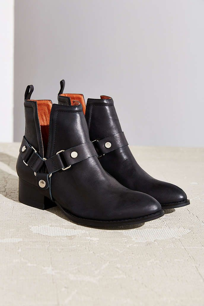 Jeffrey Campbell Musk-Harness Ankle Boot - Urban Outfitters