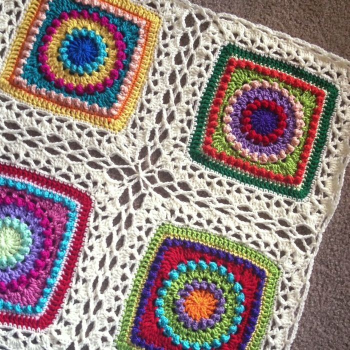 Celtic lace joining method tutorial.