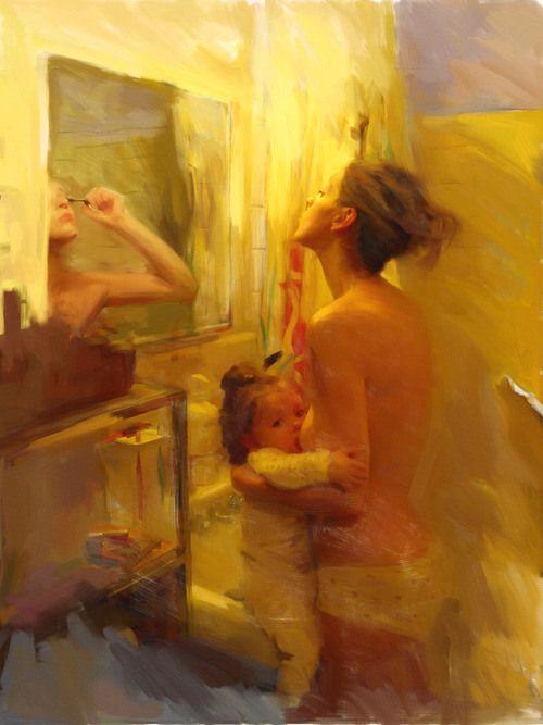 Breastfeeding while everything else