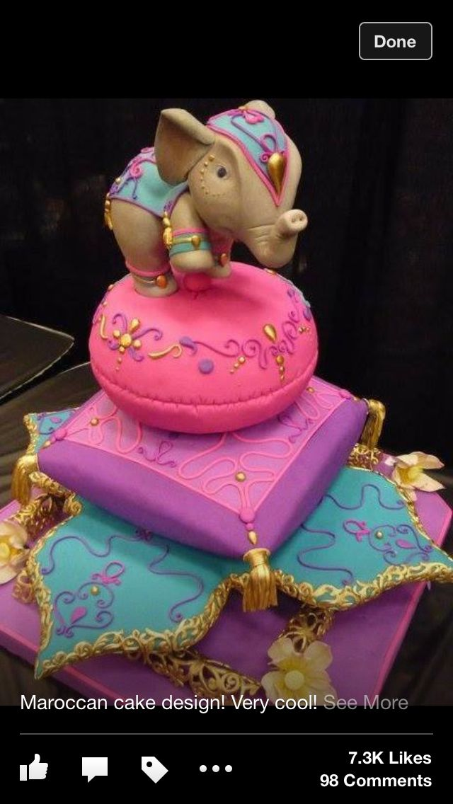 1000 Images About Cakes Aladdin On Pinterest Princess