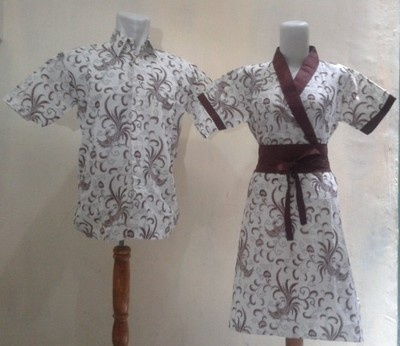 batik Indonesia for couple man and woman clothes cotton