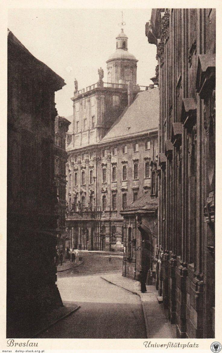 Uniwersytet Wrocławski 1911 rok