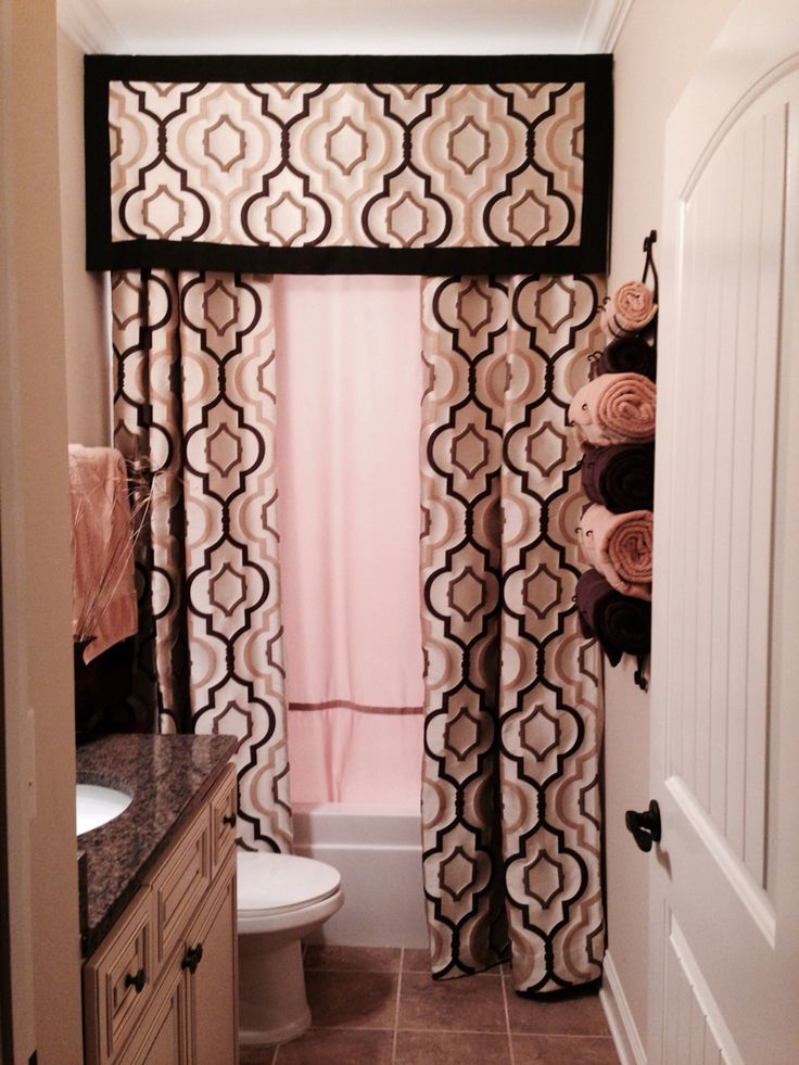 Floor To Ceiling Shower Curtain For The Home