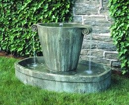 Large Outdoor Fountains: Free Shipping on all Cast Stone Garden ...