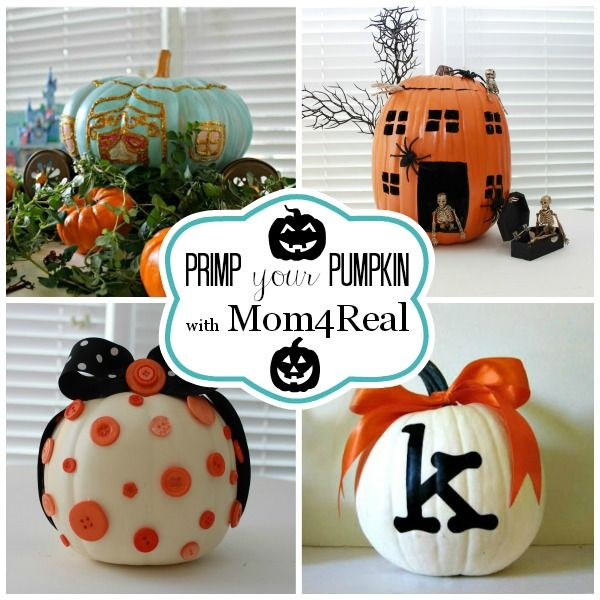 Mom 4 Real Primp Your Pumpkin #pumpkin #pumpkinideas #Halloween