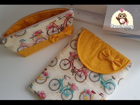 Necessaire Box Rápida - YouTube