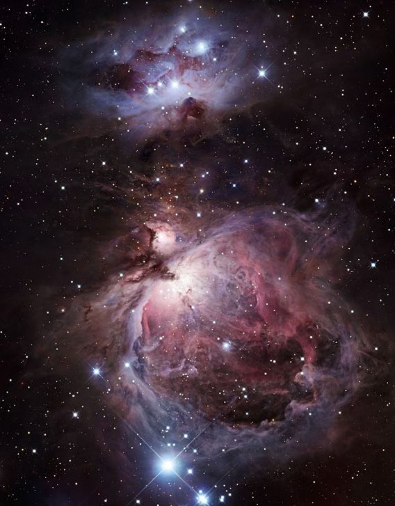 orion nebula distance from earth - 568×727