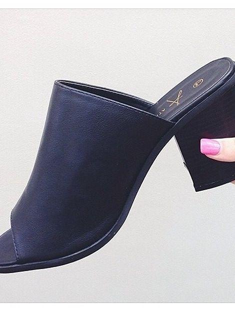Primark heels / mules / love