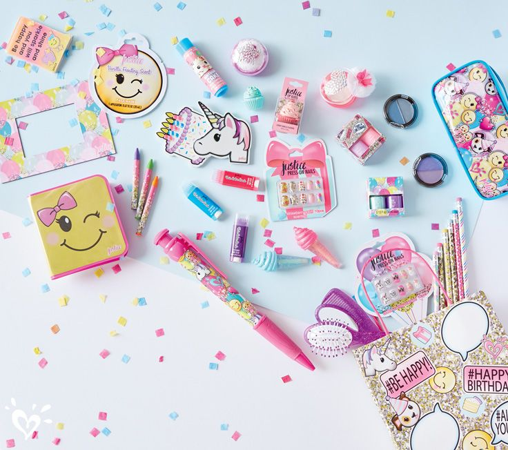 Found: the cutest birthday party favors from Justice! #birthdayparty