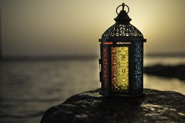 Colorful Candlelight Lantern