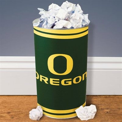 Oregon Ducks Tapered Wastebasket