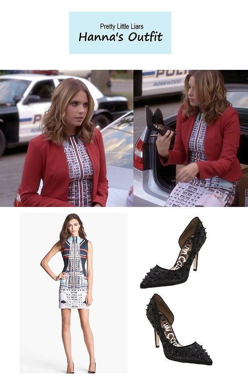 On the blog - Sneak Peek of Tonight's Episode: Hanna's (Ashley Benson) graphic…