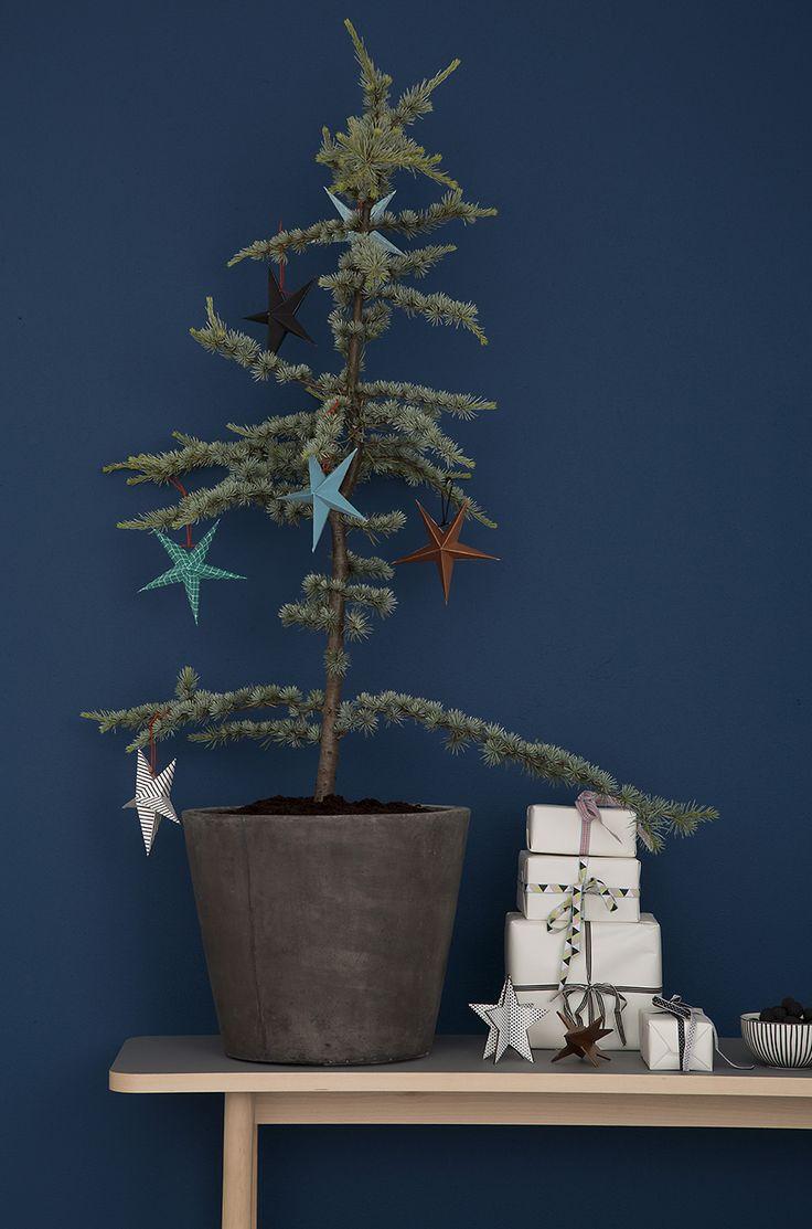 Christmas tree and stars. www.aspegren.dk